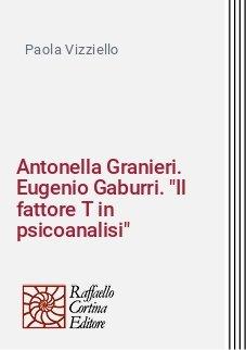 Antonella Granieri. Eugenio Gaburri.