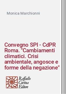 Convegno SPI - CdPR Roma.