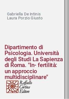 Dipartimento di Psicologia. Università degli Studi La Sapienza di Roma.