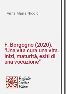 F. Borgogno (2020).