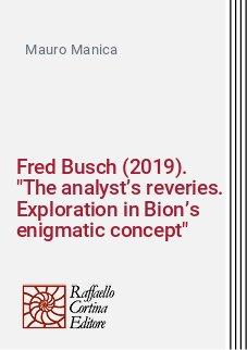 Fred Busch (2019).
