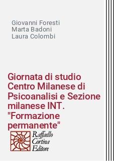 Giornata di studio Centro Milanese di Psicoanalisi e Sezione milanese INT.