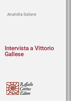 Intervista a Vittorio Gallese