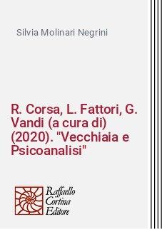 R. Corsa, L. Fattori, G. Vandi (a cura di) (2020).