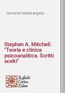 Stephen A. Mitchell.