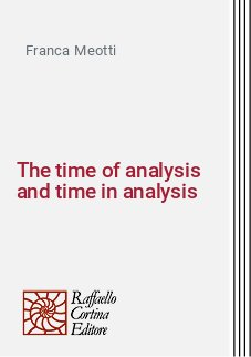 The time of analysis and time in analysis