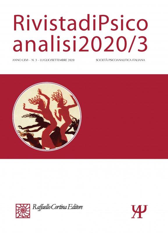 Rivista di Psicoanalisi 2020/3
