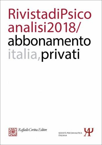 Abbonamento Rivista di psicoanalisi 2018 - Privati Italia
